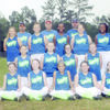 The Riptide 12U team also won't go far for their district tournament, which will be held in Rusk. Team members are Kylee Powers, Destiny Hart, Averi Teutsch, Trinity Asberry, Kristen Long, Tori Green, Madalynn Woodruff, Isabel Torres, Kaylee Walley, Harlie Leonard, Dixie Dowling, Erica Truelock, Madalyn Hill, Savannah Lorfing and Ca'Shayla McFarland. The team is coached by Josh Woodruff, Zach Powers and Armando Torres.