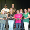 Recognized for 15 years of service were Johnny Avant, Doris Lindsey, Casey Mabry, Brian Martin, Edna Martin, Patricia McCarty, Stephanie Nimitz and Amy Roach.