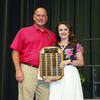 Rusk Intermediate teacher Molly Strube was named Rusk Independent School District's Teacher of the Year during the annual end of the year luncheon and service awards May 31.