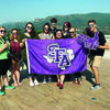 Stephen F. Austin State University students from the hospitality administration and filmmaking programs traveled to France to participate in the 70th Cannes International Film Festival. During their trip, students also visited the Château De Bellet vineyard.
