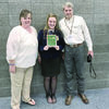 Alto FFA's Presley Griffith was named a finalist for the Star Greenhand FFA Degree in agriscience. She was recognized at a banquet in honor of the Star Degrees. She is pictured with her parents, Kimberly and John Griffith.