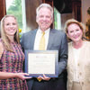 "Jacksonville Mayor Dick Stone (middle) and Cherokee County Court-at-Law Judge Janice Stone (right) were recognized as Influential Indians during the annial Jacksonville Education Foundation ""Evening With Our Stars"" event Aug. 10. They are pictured with daughter Julie Harvey."
