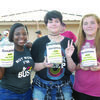 The Rusk High School Leo Club has adopted an elementary school in Rockport that was devastated by Hurricane Harvey.  At Friday night's Rusk Homecoming game, they will be collecting school supplies and monetary donations to help that school reopen.  Paper, notebooks, pencils, backpacks or anything else a student might need in elementary school are desperately needed.  Leo Club members will be at the gate to receive donations.  From left are RHS Leos Cheyenne Adams, Alexis Marburg, and Mary Mott.