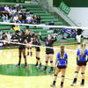 Photo: Josh Hubbard  The Rusk Lady Eagles advanced to the regional quarterfinals in the UIL 4A State Volleyball Playoffs, falling in a hard-fought battle against Pleasant Grove, 3-0 (31-33, 25-27, 25-27). The Lady Eagles end the season at 31-9-1 and will return six players from a district champion squad.