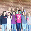 Photo: Billie Walley The Rusk Lady Eagles received a total of 11 all-district awards on the 16-4A All-District volleyball team, announced over the weekend. In front from left are Merle Besson, Mia Skinner, Laney Birdwell, Jamyah Anderson, Jillian West and Katelin Bryant. In back are Mary Fletcher, Sarah Crysup, Kylie Davis and Madi Davlin.