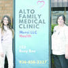Alto Family Medical Clinic, located at 123 Busy Bee St., is now open and accepting patients. The clinic is open from 8 a.m.-noon and 1 p.m.-5 p.m. Mondays-Thursdays. For more information, call (936) 858-2327.