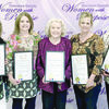 "Five Cherokee County women were honored as ""Women Who Give Back"" during a March 27 luncheon sponsored by Cherokee County Women With Purpose. The luncheon was held at the Norman Activity Center. From left are Jasmine El-Moatassem, Kris Sturrock, Dr. Deborah Burkett, Amy Rinehart and Hallie Peoples."