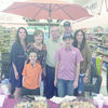 Mr. Brown is pictured above with his family during his retirement ceremony at Brookshire Bros. in Rusk. Front row left to right are Brendon and Brayden Brown. Back row is his daughter, Christy Godwin, Becky Brown, Gene Brown,  Justin Brown and Candace Brown