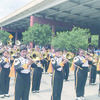 The Alto High School Mean Sting Music Machine brings home a first place award for Out of Town Band after their recent trip to San Antonio where they marched in the Battle of the Flowers Parade.