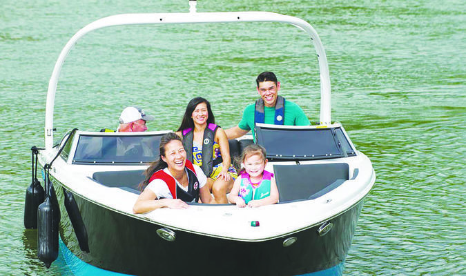 Texas Parks and Wildlife Department wants to remind residents to be cautious when enjoying area lakes and rivers this summer. This week is National Safe Boating Week and the TPWD offers classes on boating safety and licensing. Visit the department's website, www.tpwd.texas.org. Courtesy photo
