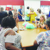 RISD staff, family and friends of Mrs. Clayton attended the reception held in her honor May 17 at the Rusk Intermediate Library.