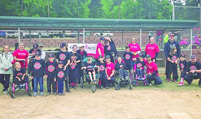 Picture provided by Melissa Robinson Pictured are team members and coaches; Audrie,Victoria, Braden, Lorenzo, Destiny, Shakailah, Loren, Westin, Cody S., Cody D., Hayden, Timothy, Kathleen, Hadlee, Monroe and coaches Melissa Robinson and Hope Oliver.