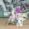 Photo Courtesy of IFYR Reagan Davis of Alto is in Shawnee, Ok competing in three events. During her first barrel run she earned a seventh place spot with a time of 17.266. She earned a first place spot in her first pole bending run with a time of 19.876 and fifth place for a breakaway roping time of 2.7.