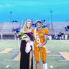 Courtesy Photo Brook Hill celebrated homecoming Friday night with a 18 point victory over Trinity Christian. Homecoming coronation ceremonies were held during half-time with Morgan Carpenter crowned at Homecoming Queen and Jared Johnson as king.