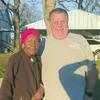 Mrs. Bessie Parker and Chris Davis