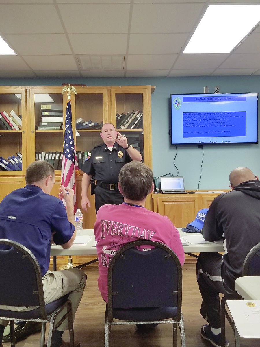Citizens enroll in first ever Citizens Police Academy