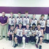 Courtesy Photo Troup Middle School hosted a basketball tournament Saturday, Jan. 12. The Troup eighth-grade team placed third and the seventh grade team, pictured, won first place.