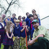 Courtesy Photo Students at Christ the Redeemer Christian School in Rusk received a lesson in silvaculture and forestry January 11 as part of the annual seedling distribution sponsored by the Cherokee County Soil & Water Conservation District.  Tx A&M Forest Service forester Jacob Crowley gave a lesson on the importance of trees, care and planting instructions then assisted students in planting Shumard red oak seedlings on the campus.