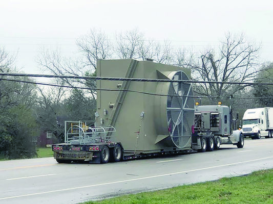 A traveling piece of industrial equipment pulled utility wires down along U.S. Highway 69 N last week, causing traffic issues for most of the day on Thursday, Feb. 21.