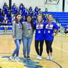 Jacksonville High School powerlifters who qualified for State include (from left) Karleigh Stewart, Yanelly Barrera, Brittany Westbrook and Chloe Devillier.   Courtesy Photo