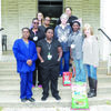 Photo by Michelle Dillon Pictured are (from left, front) Leisha Hogg, Lavondria Breedlove, D.D. Clark, (middle) Kim Reggie, Ellie Parker, Marsha Gregston, Peggy Green, (back) Chanda Perry and Shameka Johnson. Employees residing in Alto, but not pictured include Ryan Palmer, Maria Almeyda Sanchez and Amanda Waldron.