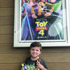 Photo by Sam Hopkins Evan Hopkins was assistant movie reviewer for Toy Story 4, giving his potato rating to Tater Tot.