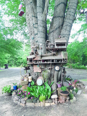 Courtesy Photo Swallowtail, Texas boasts a population of 40 inhabitants in the magical tree gnome village outside Rusk.