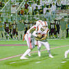 Photo courtesy of Tara Tatarski Alex Jones (pictured) receives a handoff during Friday's game against at Athens. Jones had a four-yard rushing touchdown against the Bears.