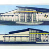 Photo courtesy of the Alto Bond Council An artist's rendering of the proposed new Alto High School facility. AISD is seeking a $10.5 million bond in November to build a new high school and other projects, after the district was severely damaged by tornadoes in April.