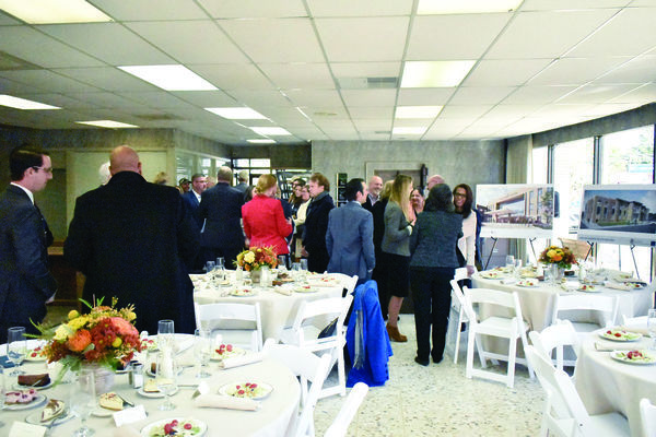 rowds enjoy lunch during a luncheon held to commemorate the official groundbreaking of the Rusk State Hospital's renovation project. Citizens 1st Bank hosted the luncheon, which was catered by Eagle's Den in Rusk.