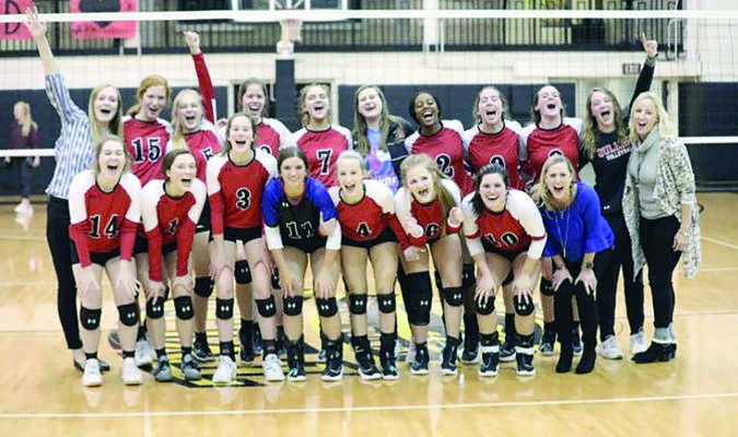 Photo courtesy Bullard Lady Panther Volleyball Facebook page After winning Bi-District and Area titles and beating Van in the regional quarterfinal, the Bullard Lady Panther volleyball team fell to Celina in the regional semifinal round of playoffs.