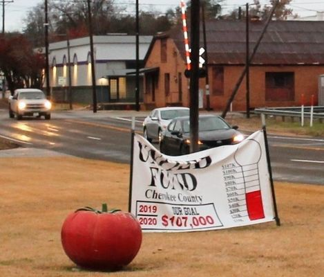 COurtesy photo Cherokee County's United Fund has reached half of this year's donation goal. There's still time to donate funds to help support more than 25 local organizations.