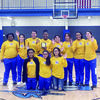 Courtesy photo The New Summerfield Lady Hornets competed in the Longview CHS Classic this past weekend, finishing in third place. The team is pictured holding the hardware they brought home from the tournament.