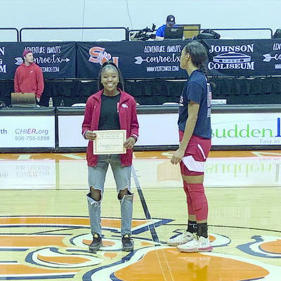 Courtesy photo Ranaiya Kennedy, a member of the Rusk Lady Eagle basketball team, was named All Tournament at the Class 4A Region 3 Regional tournament.