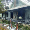 Courtesy photo The home on Kickapoo Street was gutted by the fire.