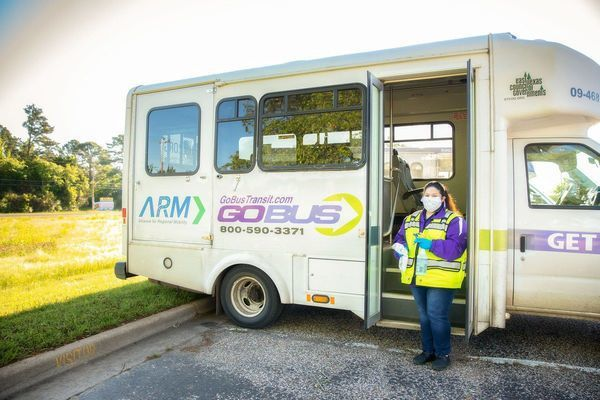 Courtesy photo GoBus drivers are keeping their vehicles clean as a whistle for their riders.