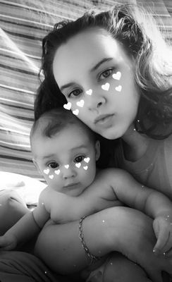Jaylie Kate Gray and son