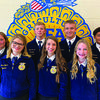 Photo courtesy of Rusk ISD  A new slate of chapter officers were elected for the 2020-21 school year. They include President Elijah Russell, Vice President Anna Dyess, Secretary Ella Morton, Treasurer KayLynn Morris, Reporter Andre Cesar, Sentinel Allen Dotson and Chaplain Kendall Filer. Photo courtesy of Rusk ISD