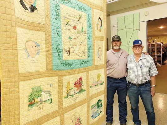 """Field of Service"" quilt by Gene Tomlin"