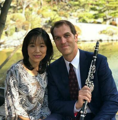 Christopher Ayer, clarinet, and Kae Hosoda-Ayer, guest piano   Courtesy photo