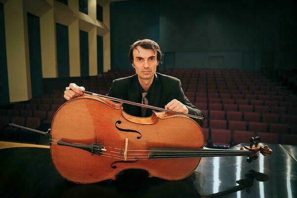 Evgeni Raychev, cello  Courtesy photo
