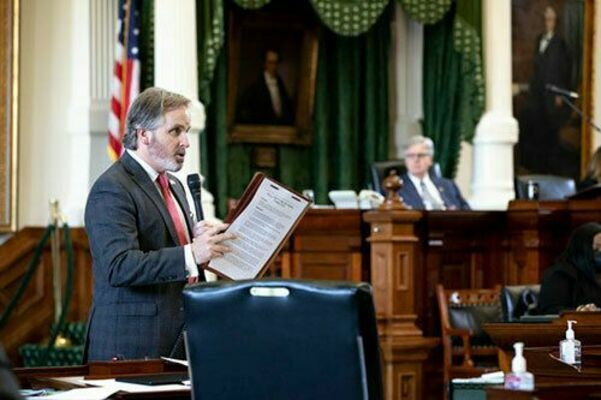 Senator Bryan Hughes of Mineola sponsored the bill directing ERCOT to fix billions in billing errors by Saturday.  Courtesy photo