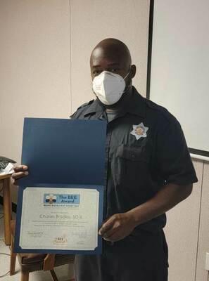 Charles Bradley, 2021 BEE award recipient, Rusk State Hospital  Courtesy photo