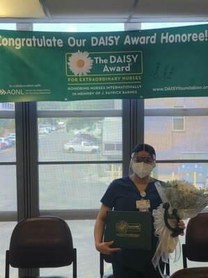 Brenda Suarez, 2021 DAISY award recipient, Rusk State Hospital  Courtesy photo