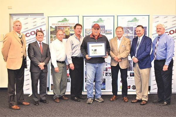 Norton Coal Co. LLC won the award for best stewardship in mining and reclamation for a Tazewell County operation.