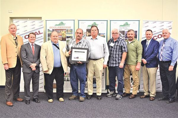 Ramaco Resources Land Holdings LLC received the award for best refuse disposal and the award for best active preparation plant, both in Tazewell County.
