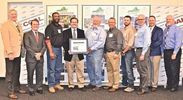 Buchanan Minerals LLC in Buchanan County won the award for best active deep mine.