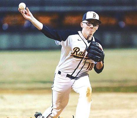 J.I. Burton Raider baseball senior Holden Hunnicutt - PHOTO BY SAMMY BELCHER