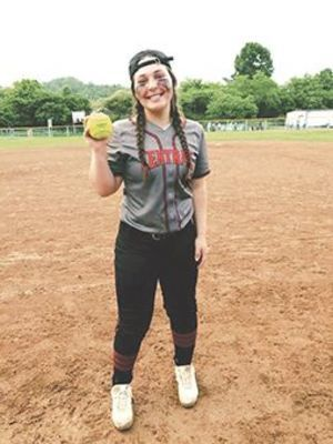 Eastside Lady Spartan softball senior Keely Balthis - SUBMITTED PHOTO