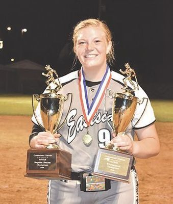 Eastside Lady Spartan softball senior Carrie Boyd - SUBMITTED PHOTO